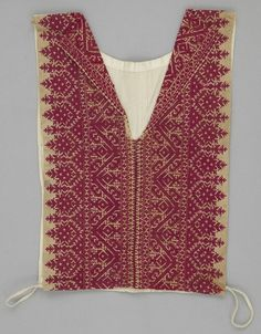 Cotton & Silk Shirt from Morocco 1900