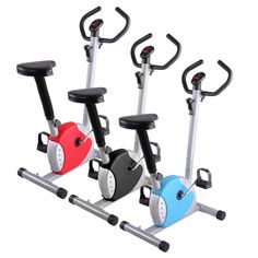 Exercise Bike Fintess Cycling Machine Cardio Aerobic Equipment Workout Gym 42H
