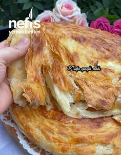 Healthy Soup Recipes, Great Recipes, Favorite Recipes, Bread Dough Recipe, Good Food, Yummy Food, Pancakes And Waffles, Turkish Recipes, Food To Make