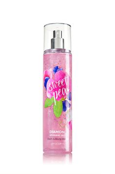 Sweet Pea Diamond Shimmer Mist - Signature Collection - Bath & Body Works
