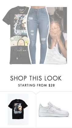 """""""💗California Love ~ 2Pac💗"""" by goldytyna ❤ liked on Polyvore featuring Urban Outfitters and NIKE"""