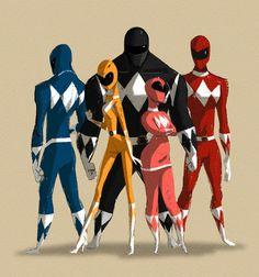 Power Rangers by MingjueChen