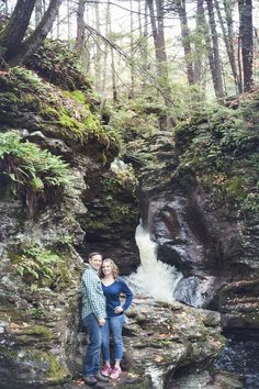 Waterfall Wonderland Engagement by Smile Peace Love Photography (42)