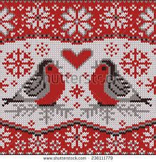 Image result for fair isle heart pattern cowl