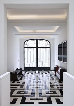 Entrance floors....sleek