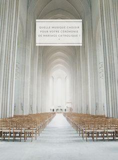 Quelle musique choisir pour votre cérémonie de mariage catholique ? - Pièces d'orgue et chant gospel à découvrir sur le blog mariage…