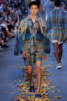 Missoni Spring 2016 Menswear Fashion Show: Complete Collection - Style.com