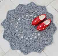 Over 50 Free Crochet Rug Patterns and Tutorials at AllCrafts.net - Free Crafts Network