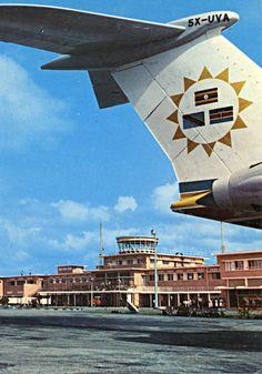East African Airways at Dar-es-Salaam, Tanzania