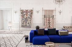 HAY vintage rugs pop-up shop in copenhagen