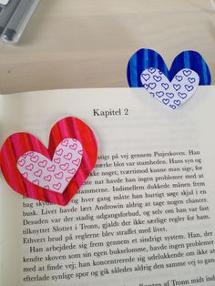 How to Make Heart Shaped Bookmarks