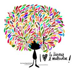 Cómo disfruto (y aprendo) de los matices. De lo distinto. De los colores. De lo diverso... Eeeegunon mundo!!