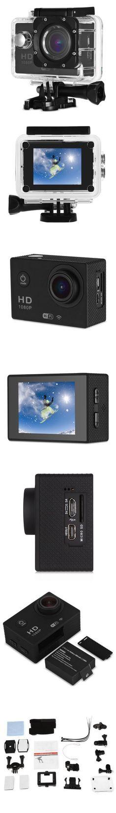CS5000H WiFi Action Camera Full HD 1080P EU PLUG-35.34