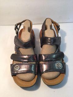 769575d125f5 Women s Calzamedi BIO Therapeutic Gel Sandals Pressure Point Massage US  8.5-9M