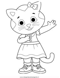 Daniel and Margaret-PBS free printable coloring pages | Printable ...