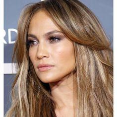 #J.Lo beautifull hair and beautifull make-up <3