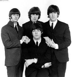 Richard Starkey, George Harrison, John Lennon, and Paul McCartney