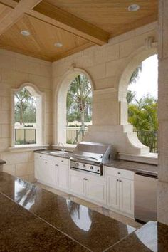 Awesome Summer Kitchen... | Creative Building Group, Inc. | www.creativebuildinggroup.com    #outdoorliving #summerkitchen #BBQ