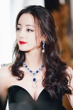 Drop Dead Gorgeous, Beautiful, Chinese Actress, Asian Girl, Turquoise Necklace, Actresses, Drop Earrings, Celebrities, Lady