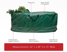 Christmas Tree Storage Bag With Wheels Fair How To Make A Christmas Tree Storage Bag  Pinterest  Christmas Design Inspiration