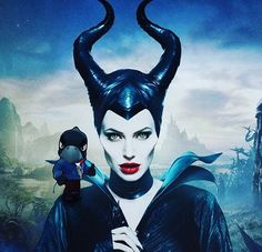 """The new posters feature Angelina Jolie (Maleficent), Elle Fanning (Princess Aurora), Sharlto Copley (Stefan), and Sam Riley (Diaval). """"Maleficent"""" is the untold story of Disney's most iconic villain from the […] Movies 2014, Hd Movies, Disney Movies, Movies To Watch, Movie Tv, Movies Online, Movie Club, Disney Villains, Film Online"""