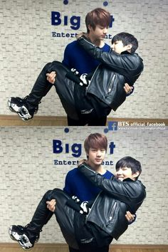 BTS   JHOPE and JIN