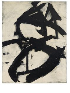 Franz Kline, 'Figure 8,' 1952, Anderson Collection at Stanford University