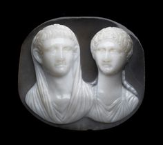 Exhibition: 'Jewels, Gems, and Treasures: Ancient to Modern' at the Museum of Fine Arts, Boston http://wp.me/pn2J2-3qe Dr Marcus Bunyan. Photo: Anon 'Cameo with portrait busts of an Imperial Julio-Claudian couple' mid-1st century AD