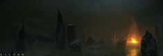 ArtStation - Camp Point: The Dagger Swamp, Jack Kilyan