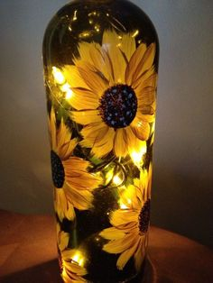 """Wine Bottle Gifts/Favors - """" You are in the right place about trends moodboard Here we offer you the most beautiful picture - Painted Wine Bottles, Lighted Wine Bottles, Painted Wine Glasses, Bottle Lights, Decorated Bottles, Wine Bottle Lanterns, Wine Bottle Gift, Glass Bottle Crafts, Diy Bottle"""