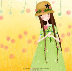 이미지를 클릭하면 원본을 보실 수 있습니다. Cute Cross Stitch, Counted Cross Stitch Patterns, Illustrations, Illustration Art, Folk, Miss Sweet, Painting Collage, New Dolls, Cartoon Kids