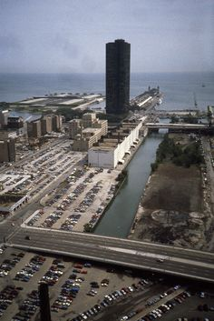 The Ogden Slip (Part of River North) - 1985