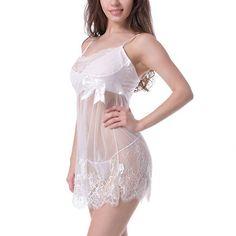New Sexy Lace Lingerie Dress Nightwear Underwear Babydoll Sleepwear G-String #Affiliate