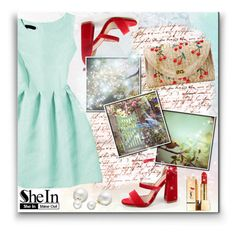 """""""SHEIN"""" by anastasia-ana ❤ liked on Polyvore featuring Yves Saint Laurent, Allurez and shein"""