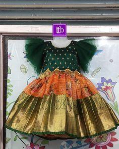 Baby Girl Dress Design, Girls Frock Design, Kids Frocks Design, Baby Frocks Designs, Girls Dresses Sewing, Dresses Kids Girl, Baby Dresses, Dress Sewing, Summer Dresses