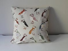 Items similar to Puffins Kids Pillow Cover Beige Grey Pillow Cover Puffin Cushion Cover Throw Pillow Cover Puffin Toddler Pillow Cover Decorative Pillow on Etsy Grey Pillow Covers, Grey Pillows, Kids Pillows, Throw Pillows, Toddler Pillow, Decorative Pillows, Cushions, Beige, Boys