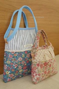 Erinnert mich an Alice Bag - Patchwork Bags, Quilted Bag, Alice Bag, Bag Patterns To Sew, Denim Bag, Fabric Bags, Cotton Bag, Handmade Bags, Bag Making