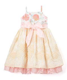 Look at this #zulilyfind! Rose Garden Paloma Dress - Toddler & Girls #zulilyfinds
