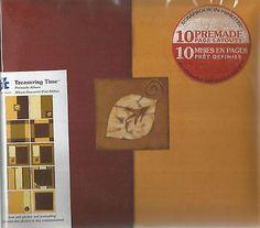 Treasuring Time Premade Album Fall 20-8962 by Provo Craft Scrapbook
