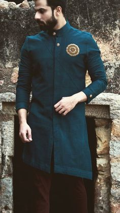 Best Trendy Outfits Part 28 Mens Indian Wear, Indian Groom Wear, Indian Men Fashion, Indian Man, Mens Fashion Suits, Mens Ethnic Wear, Men's Fashion, Kurta Pajama Men, Kurta Men