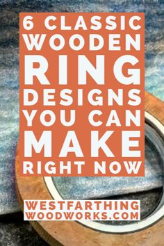 These are the six designs that can make your wooden rings instantly look professional. If you are a new ring maker, start making these designs and you will instantly see a cohesive and professional look in your wooden rings. Ring Making, Little Bit Of You, How To Make Rings, Woodworking Books, Small Faces, Wood Rings, Wood Veneer, Wood Species, Carpentry