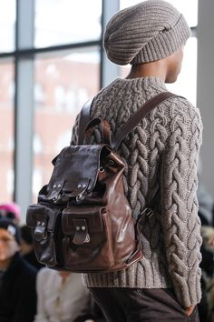 Michael Kors - Autumn/Winter 2014 Cable sweater and hat...LOVE