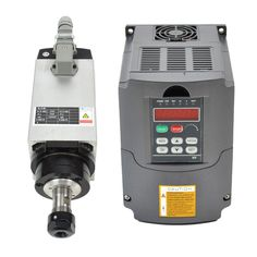 3KW 220V Er20 Collet Air Cooled CNC Spindle Motor and 3kw 220v Vfd Variable Frequency Drive. Ships from CA, United States. 3kw Air-cooled Motor Spindle and Matching Inverter. Four bearing in our spindle motor. 3kw Air-cooling High Speed High Precision Spindle. Motor Numerical Engraving/grinding/milling. Air-cooled Er20 Collet Chuck.