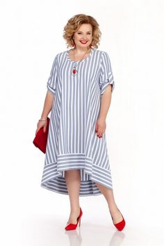 Mature Women Fashion, Plus Fashion, Womens Fashion, Short Long Dresses, Hijab Dress, Large Women, Fashion Sewing, Plus Size Dresses, Dress Patterns