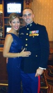 First Army Ball! Gown: BCBG-2013 And my handsome soldier in his ...