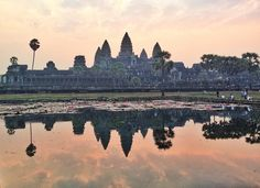 Angkor, the city where temple was fabricated is situated in present-day Cambodia and was sometime before the capital of Khmer. This popular center comprises several temples and a community that has been supposed to be as large as 1 million people. Until industrial revolution, it was considered to be the largest city all over the globe. http://www.guiddoo.com/