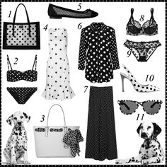 Die for Style: It's time for monochrome polka dots!