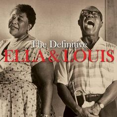 Ella Fitzgerald & Louis Armstrong. Scan your old vinyl covers with iPhone or iPad + Pic Scanner app. Click to download free