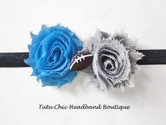 Detroit Lions Headband: baby headbands, newborn headband, football headbands, infant headband, toddler headband, childrens headband