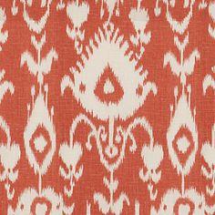 Malabar Coral Fabric by the Yard